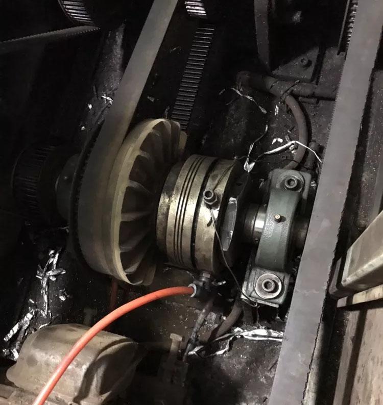 空压通轴式离合器NAC-20